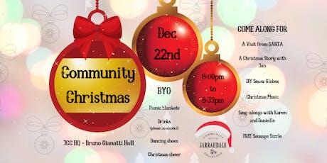 JCC's Community Christmas tickets