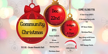 JCC's Community Christmas tickets