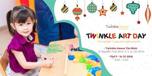 Twinkle Art Day tháng 12 tại Twinkle House Tân Bình