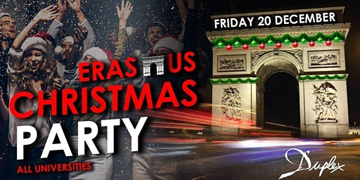 ★Erasmus Christmas Party ★Vendredi 20 décembre / Le Duplex