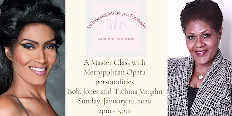 A Master Class with Isola Jones and Tichina Vaughn tickets