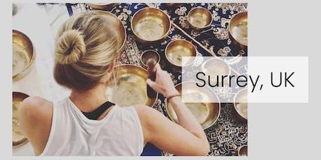 Level 1 & 2 Sound Healer Practitioner Training - Surrey UK tickets