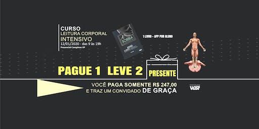 PAGUE 1 LEVE 2 | CURSO LEITURA CORPORAL INTENSIVO (10 HORAS) - *PRESENCIAL