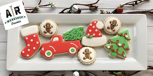 Christmas Cookie Decorating Party and Mini Make-and-Take Project @ AR Workshop  - Franklin