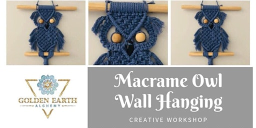 Macramé Owl Wall Hanging Workshop