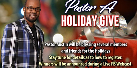 Pastor A Holiday Giveaway tickets