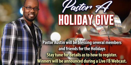 Pastor A Holiday Giveaway