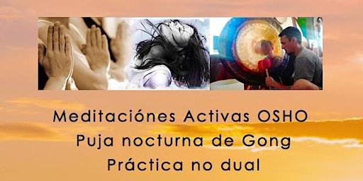 Retiro de Meditaciones Activas - Puja de Gong - Quietud