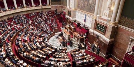 Visite de l'Assemblée nationale billets