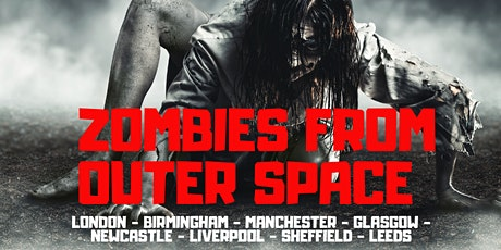 Escape Hunt Halloween Zombies From Outer Space tickets