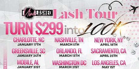 The Lash Tour tickets
