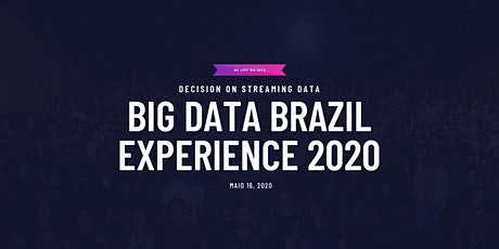 Big Data Brazil Experience 2020 ingressos