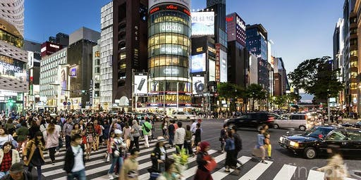 Kissing Flash Mob in the Ginza Crossing! (6:30pm for 10 minutes)