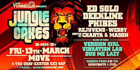 Jungle Cakes - Ed Solo, Deekline & Phibes tickets