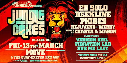 Jungle Cakes - Ed Solo, Deekline & Phibes