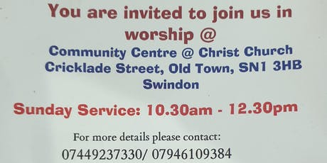 Worship Service tickets