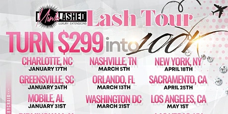 The Lash Tour tickets