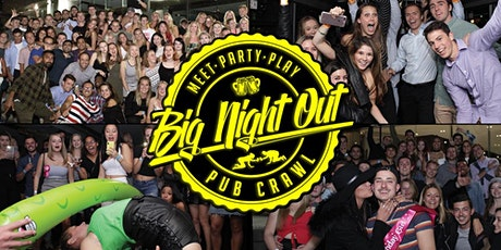 BIG NIGHT OUT PARTY BUS & PUB CRAWL! tickets