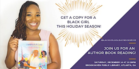 Black Girl Holiday Book Drive! tickets