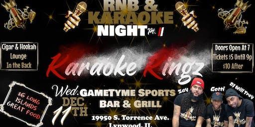 RnB & Karaoke Night Pt. II