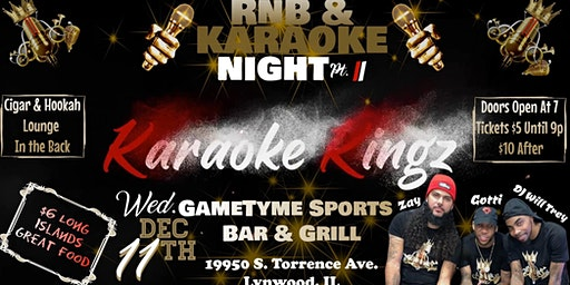 RnB & Karaoke Night Pt. II
