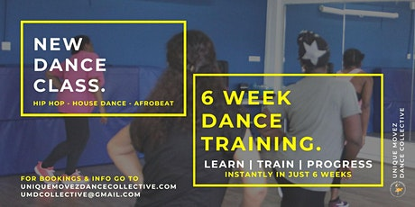 NEW Dance classes: 6 Week Dance Training tickets