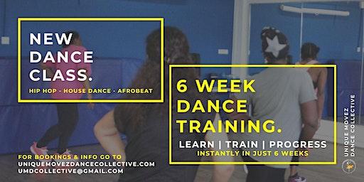NEW Dance classes: 6 Week Dance Training
