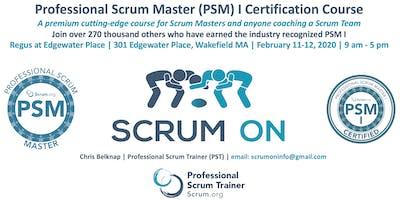 Scrum.org Professional Scrum Master PSM - Wakefield MA - Feb 11-12, 2020