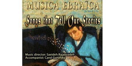 Musica Ebraica presents Songs That Tell Our Stories tickets