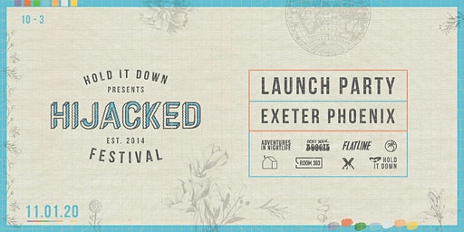 Hijacked Festival 2020 Launch Party