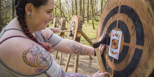 Axe throwing event (19 January 2020, 10.00 - 11.30am, Bridgend)