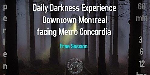 Expérience Darkroom onoir-Facez votre ombre o'noir