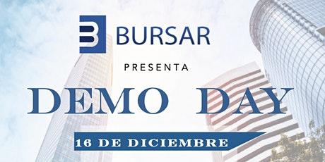 BURSAR DEMO DAY boletos