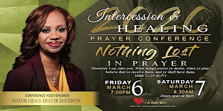 2020  Intercession and Healing Prayer Conference tickets