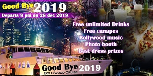 Good bye 2019 bollywood cruise