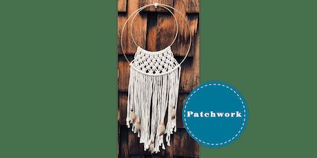 Patchwork Presents Macrame Hoop Craft Workshop tickets