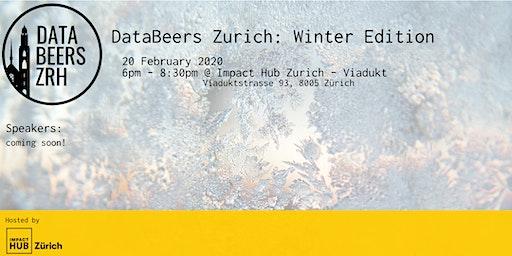 DataBeersZRH: Winter Edition