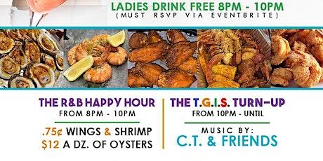 12/21 - TGIS Pregame Happy Hour (Educators Edition) at Crazy Crab tickets