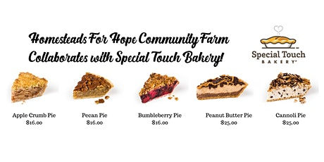 Homesteads Holiday Pies - Special Touch Bakery tickets