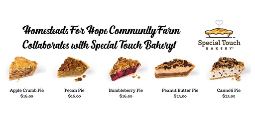 Homesteads Holiday Pies - Special Touch Bakery