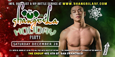 ShangriLa Holiday Party tickets