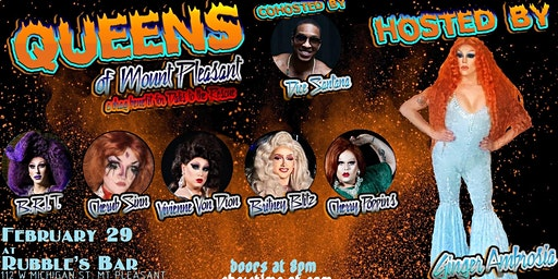 Queens of Mount Pleasant: a Drag Benefit for Dalis to the Rescue!