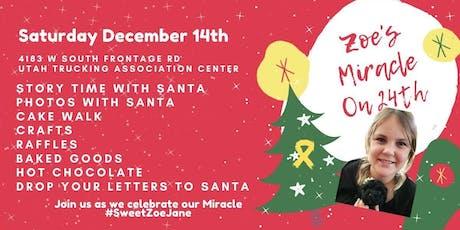 Family Photo's w/ Santa - Cancer Fundraiser - Zoe's Miracle on 24th tickets