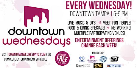 Downtown Wednesdays (12/18) tickets