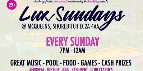 Lux Sundays tickets