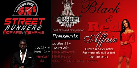 Street Runners Sexy Black & Red Affair  tickets