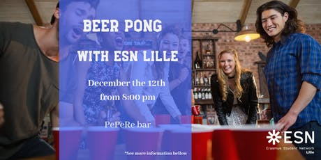 BEER PONG with ESN Lille billets