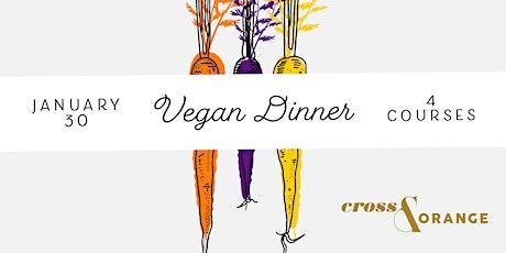 Cross + Orange Vegan Dinner tickets
