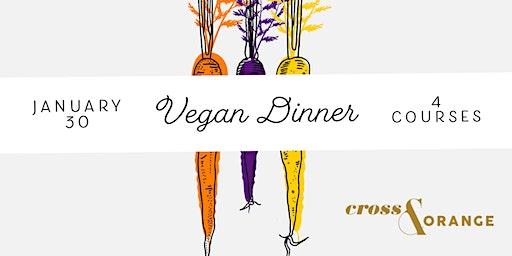 Cross + Orange Vegan Dinner