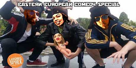 English Stand-Up Comedy - Eastern European Special #10 with free shots tickets